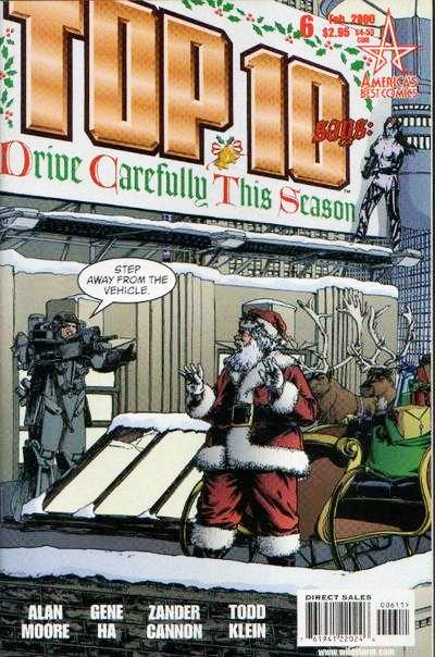top-10-6-christmas-cover-santa-claus-arrest-irma-review-gene-ha-zander-cannon-alan-moore