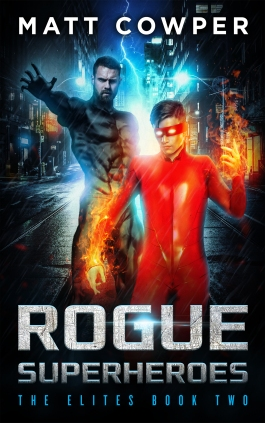 ROGUE SUPERHEROES cover Kindle