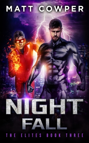 NIGHTFALL cover KINDLE